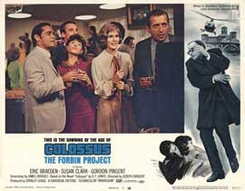 Colossus: The Forbin Project - 11 x 14 Movie Poster - Style R