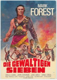 Colossus of the Arena - 11 x 17 Movie Poster - German Style A