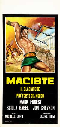 Colossus of the Arena - 11 x 17 Movie Poster - Italian Style A