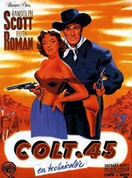 Colt 45 - 11 x 17 Movie Poster - French Style A