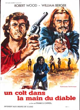 Colt in the Hand of the Devil - 11 x 17 Movie Poster - French Style A