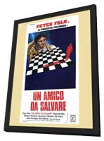 Columbo: A Friend in Deed - 27 x 40 Movie Poster - Italian Style A - in Deluxe Wood Frame