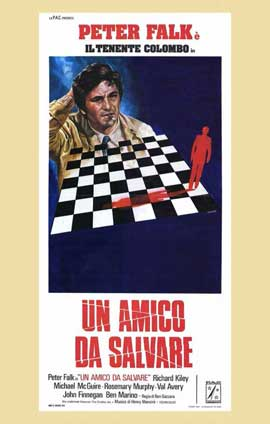 Columbo: A Friend in Deed - 11 x 17 Movie Poster - Italian Style A