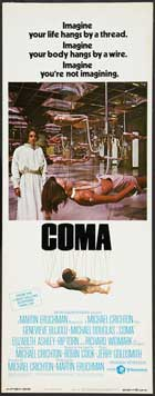 Coma - 14 x 36 Movie Poster - Insert Style A