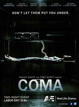 Coma (TV) - 11 x 17 TV Poster - Style A