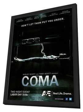 Coma (TV) - 11 x 17 TV Poster - Style A - in Deluxe Wood Frame