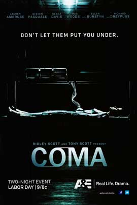 Coma (TV) - DS 1 Sheet Movie Poster - Style A