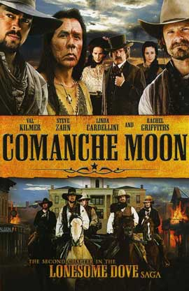 Comanche Moon - 11 x 17 Movie Poster - Style A