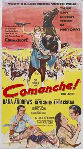 Comanche - 11 x 17 Movie Poster - Style A