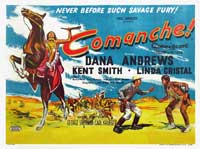 Comanche - 30 x 40 Movie Poster UK - Style A