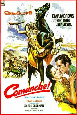 Comanche - 11 x 17 Movie Poster - Spanish Style A