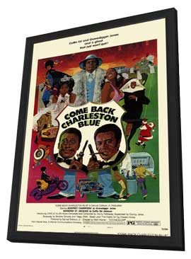 Come Back Charleston Blue - 11 x 17 Movie Poster - Style A - in Deluxe Wood Frame