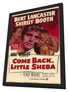 Come Back, Little Sheba - 11 x 17 Movie Poster - Style A - in Deluxe Wood Frame