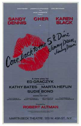 Come Back to the 5 & Dime Jimmy Dean, Jimmy Dean (Broadway) - 14 x 22 Poster - Style A