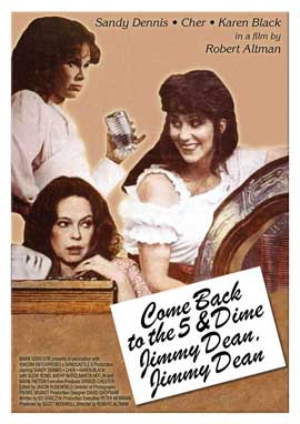 Come Back to the 5 & Dime Jimmy Dean, Jimmy Dean (Broadway) - 27 x 40 Movie Poster - Style A