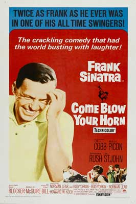 Come Blow Your Horn - 27 x 40 Movie Poster - Style B