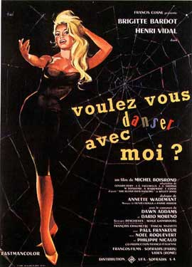 Come Dance with Me! - 11 x 17 Movie Poster - French Style A