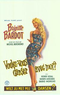 Come Dance With Me - 14 x 22 Movie Poster - Belgian Style A