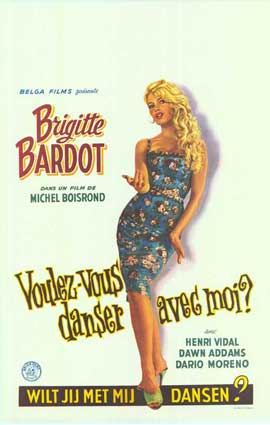 Come Dance With Me - 11 x 17 Movie Poster - Belgian Style A