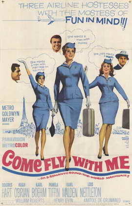 Come Fly With Me - 11 x 17 Movie Poster - Style B