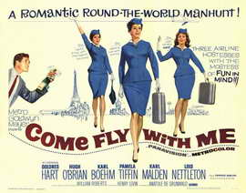 Come Fly With Me - 11 x 14 Movie Poster - Style I