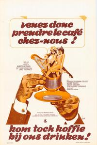 Come Have Coffee With Us - 11 x 17 Movie Poster - Belgian Style A