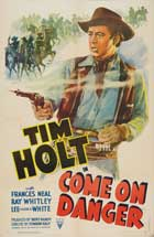 Come on Danger - 27 x 40 Movie Poster - Style A