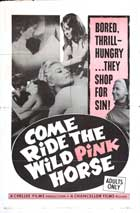 Come Ride the Wild Pink Horse - 27 x 40 Movie Poster - Style A