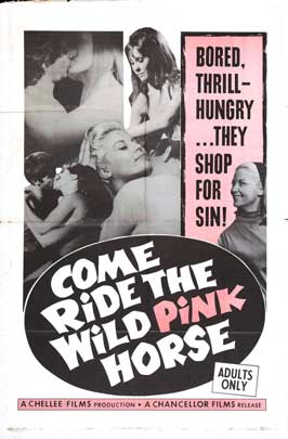 Come Ride the Wild Pink Horse - 11 x 17 Movie Poster - Style A