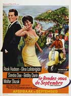 Come September - 11 x 17 Movie Poster - Belgian Style A
