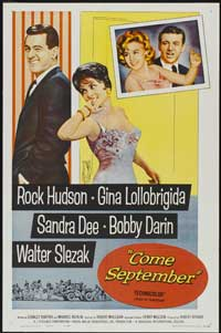 Come September - 43 x 62 Movie Poster - Bus Shelter Style A