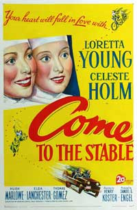 Come to the Stable - 11 x 17 Movie Poster - Style A