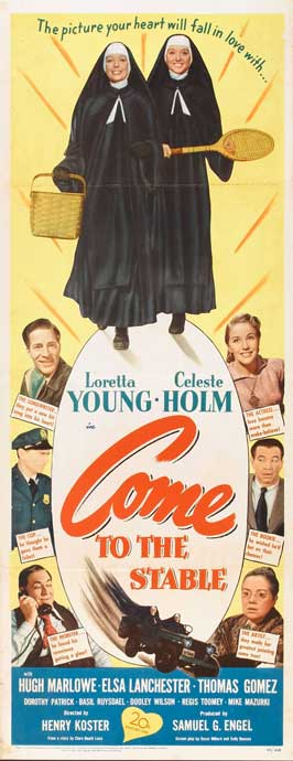 Come to the Stable - 14 x 36 Movie Poster - Insert Style A