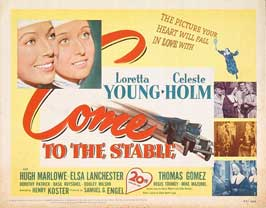 Come to the Stable - 22 x 28 Movie Poster - Half Sheet Style A