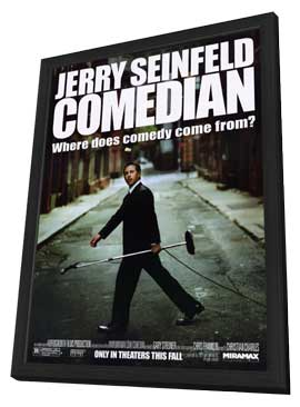 Comedian - 11 x 17 Movie Poster - Style A - in Deluxe Wood Frame