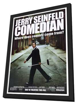 Comedian - 27 x 40 Movie Poster - Style A - in Deluxe Wood Frame