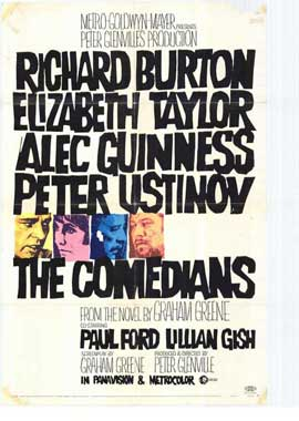 The Comedians - 27 x 40 Movie Poster - Style A