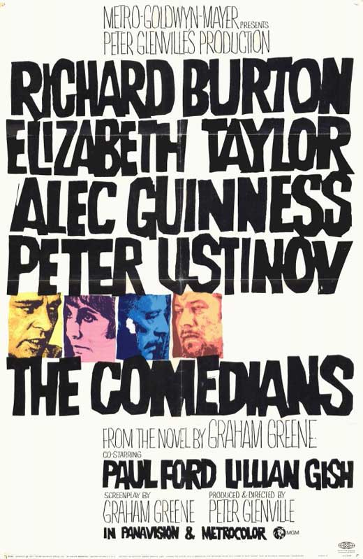 The Comedians movie