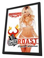 Comedy Central Roast of Pamela Anderson - 27 x 40 Movie Poster - Style A - in Deluxe Wood Frame