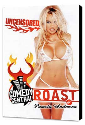 Comedy Central Roast of Pamela Anderson - 27 x 40 Movie Poster - Style A - Museum Wrapped Canvas