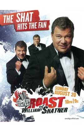Comedy Central Roast of William Shatner - 11 x 17 TV Poster - Style A