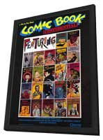 Comic Book Confidential - 27 x 40 Movie Poster - Style A - in Deluxe Wood Frame