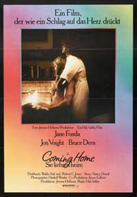 Coming Home - 11 x 17 Movie Poster - German Style A