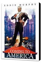 Coming to America - 11 x 17 Movie Poster - Style C - Museum Wrapped Canvas