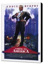 Coming to America - 27 x 40 Movie Poster - Style A - Museum Wrapped Canvas