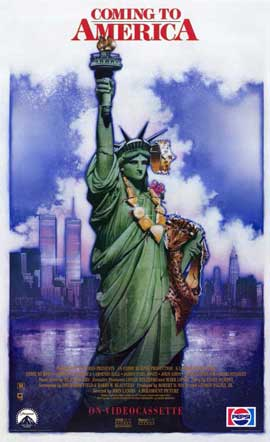 Coming to America - 11 x 17 Movie Poster - Style B