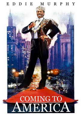 Coming to America - 11 x 17 Movie Poster - Style C