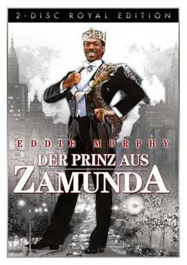 Coming to America - 11 x 17 Movie Poster - German Style A