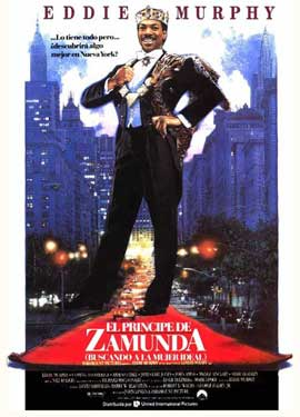 Coming to America - 27 x 40 Movie Poster - Spanish Style A