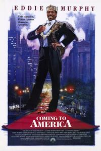 Coming to America - 11 x 17 Movie Poster - Style A - Museum Wrapped Canvas